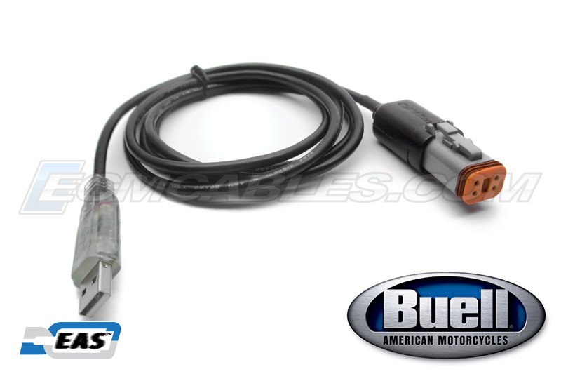 Buell ECM Spy TPS Reset Direct Link USB Programming Tuning Clear Cable